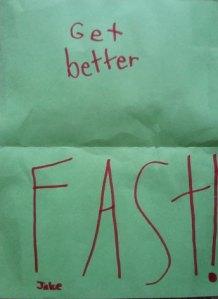 Get better fast
